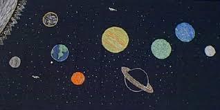 Kids Glow In The Dark Solar System Project