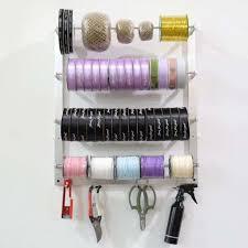 oem durable wire spool rack wall