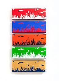 philadelphia skyline ii canvas ultimate sports edition by inktheprint phillies sixers flyers on philly sports wall art with philadelphia skyline ultimate sports edition 5 canvas 12 x 4
