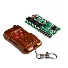 IC 2262/2272 4 CH Key <b>Wireless</b> Remote <b>Control 315MHZ Receiver</b> ...