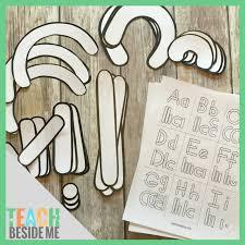 Templates Alphabet Letters Alphabet Letter Building Templates