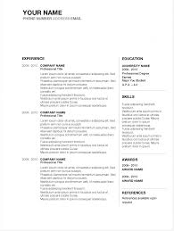 Microsoft Resume Example Best Microsoft Word Resume Template Free Inspirational Cv