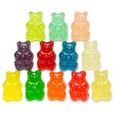 Light Gummy Bears 12 Flavor Gummi Bears Worlds Best Gummies Gourment