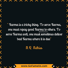 Quotes About Serving Others Classy 48 Picture Quotes About Karma To Enlighten Your Life In A Biggg Way