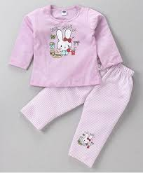 Hello Mello Lounge Pants Size Chart Teddy Full Sleeves Top Lounge Pant Bunny Print Pink