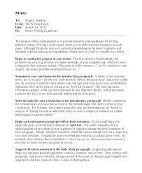 Memo Proposal Format Proposal Memo Sample