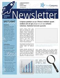 Free Business Newsletter Templates Free Business Newsletter ...