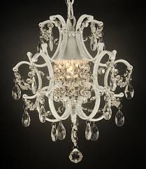 white wrought iron crystal chandelier lighting country french