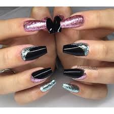 Pink Purple And Silver Nail Designs Related Image Purple Glitter Nails Gel Nails Glitter Gel