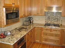 Backsplash Designs For Kitchen Kitchen Kitchen Backsplash Ideas Black Granite Countertops Bar