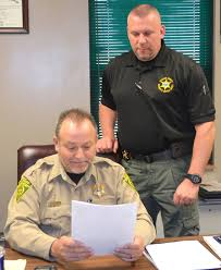 Holt, Beverly Settling In At Helm Of Sheriff's Department | Local News |  greenevillesun.com