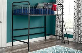 better homes and gardens bunk beds better homes and gardens twin metal loft bed for reg