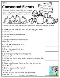 This packet is perfect for early finishers, morning work, homework and more. Phonics Consonant Blends 3 Worksheets 99worksheets