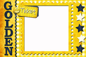 Play Ticket Template Golden Ticket Template Free
