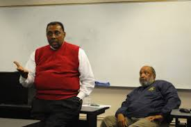The YES! Weekly Blog: Lewis Brandon and Nelson Johnson speak to Greensboro  College class
