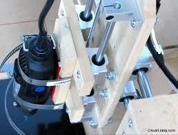 dremel holding build diy cnc machine rc multirotor