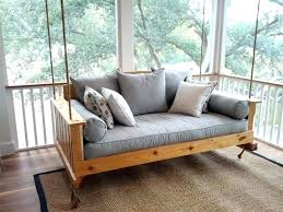 twin bed porch swing cushions outdoor home pretty 3 for cushion