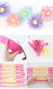 Homemade Paper Flower Decorations Diy Paper Flower Crafts And Projects Pink Lover