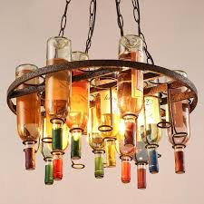 retro glass chandelier american