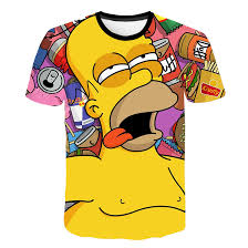 Mens And Womens Shirt Size Chart Zutter New T Shirt Simpson Printing 3d Mens Womens T Shirt