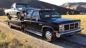 1986 GMC C3500 Crew Cab 56K LOW MILES, Hodges Ramp Bed Car Hauler ...