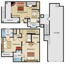 Braemar West Townhomes  Westcott HomesTownhomes Floor Plans