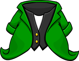 template of a leprechaun leprechaun tuxedo club penguin wiki fandom powered by wikia