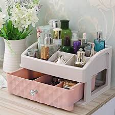 XIAOLI& <b>Makeup</b> Organizer <b>Cosmetic</b> Case <b>Dresser</b> Shelf Storage ...