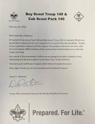 Boy Scout Letter Of Recommendation For Eagle Scout Letter Of Recommendation Boy Scout Troop 140 West Suburban Wellness