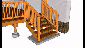 wood deck railing ideas. Deck Railing Designs | Wood - YouTube Ideas D