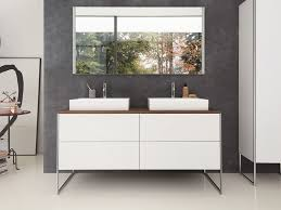 floor standing double lacquered vanity unit xsquare floor standing vanity unit by duravit