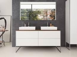 floor standing double lacquered vanity unit xsquare floor standing vanity unit by duravit