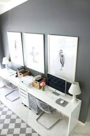 white airy home office. medium size of contemporary white home office desk high gloss furniture airy