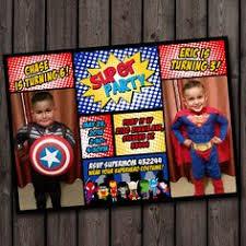 Personalized Superhero Birthday Invitations 14 Best Superhero Invitations Images Superhero Birthday Party 4th