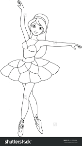 Coloring Pages Ballerina Coloring Pages Printable Image