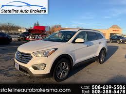 2013 Hyundai Santa Fe Abs And Tcs Lights Are On Used 2013 Hyundai Santa Fe Awd 4dr Gls For Sale In Attleboro