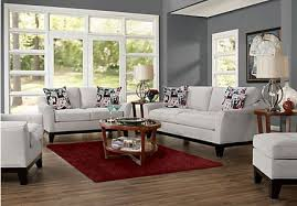complete living room sets. cindy crawford home newport cove platinum 3 pc living room complete sets