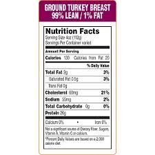 epsen hillmer nutrition facts ground turkey t p r paper supply co