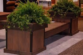 garden bench planter box. wooden decks | build a deck bench with planter boxes azek hardware . garden box