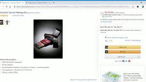 victoria s secret makeup kit review