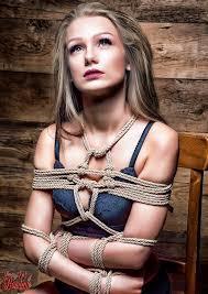 Bondage female rope uk