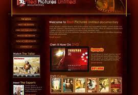 Company Portfolio Template Delectable Film Production Web Template