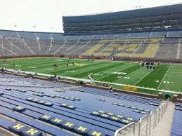 Michigan Stadium Seating Chart With Rows Michigan Stadium Section 20 Home Of Michigan Wolverines