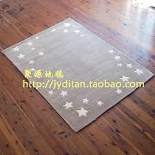 hand made cut pile grey star area rugs for kids for carpet rugs manufacturer from china 101549400