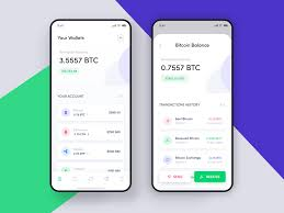 Design By Exchange Crypto Currencies Wallet Exchange Application Design