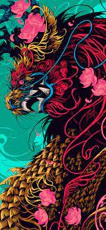 Graffiti wallpaper iphone, Dragon ...