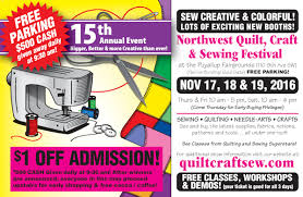 Northwest Quilt Craft Sewing Festival 2016 - Quality Sewing & Vacuum & Applique Patterns, Scissors Sewing Tools Stenciling Embossing Needle Art Adamdwight.com