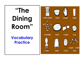 dining room furniture names. Learn Dining Room Vocabulary. Easy English Conversation Practice. - YouTube Furniture Names