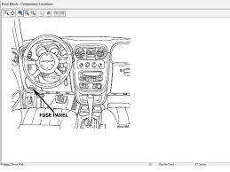 similiar 2010 pt cruiser fuse box keywords location on door lock wiring diagram on 2004 chrysler pt cruiser