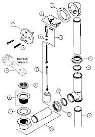 typical bathtub drain diagram
